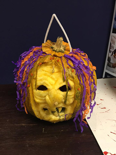 Halloween Pumpkin 2017 - Eastern Academy